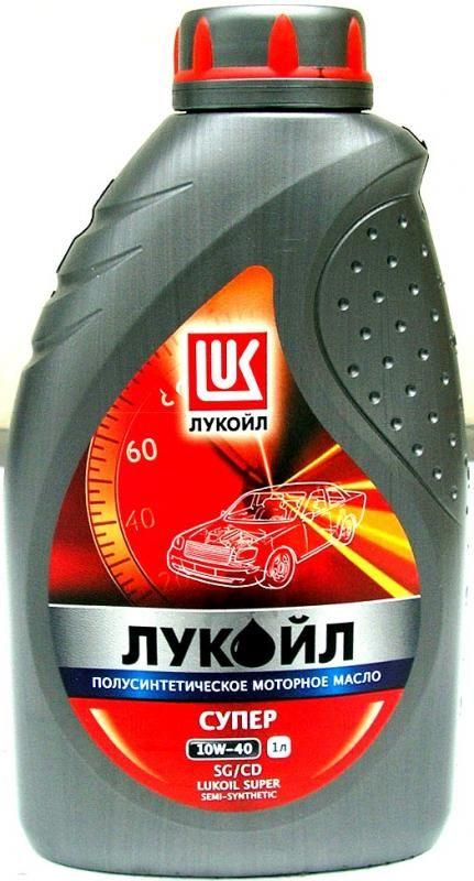 Масло моторное Лукойл Супер 10W40SG/CD 1л