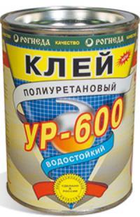 Клей УР-600 полиуретановый водостойкий 0,75л Рогнеда