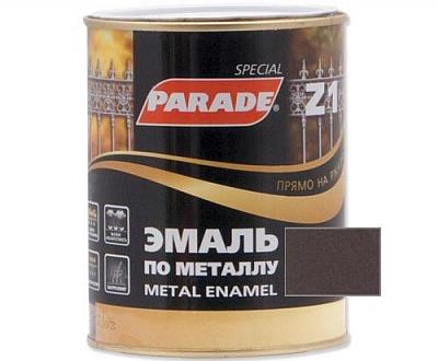 Эмаль по металлу Parade Z1 2,5л молотковая коричневый Израиль