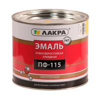 Эмаль ПФ-115 (Лакра Синтез) желтый 2 кг