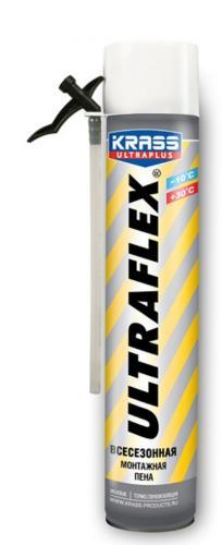 Пена монтажная ULTRAFLEX 650мл всесезоннная бытовая