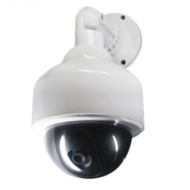 Муляж Рексант 45-0200 уличной купольной видео камеры  с мигающим красным светодиодом
