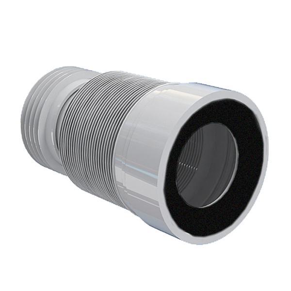 Удлинитель гибкий К928 для унитаза с мет. спиралью 260-560мм