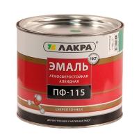 Эмаль ПФ-115 (Лакра Синтез) бирюза 2 кг