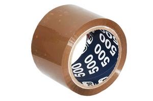 Скотч упаковочный коричневый 50х66м