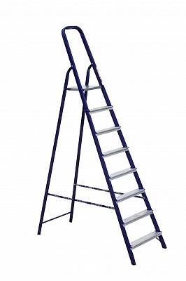 Стремянка стальная 8 ступеней (2,44 м)