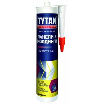 Клей монтажный Титан Gallop Fix 310мл белый
