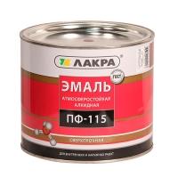 Эмаль ПФ-115 (Лакра Синтез) коричневый 2 кг