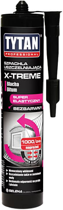 Герметик Титан для кровли каучук бесцветный-10* X-TREME 310мл