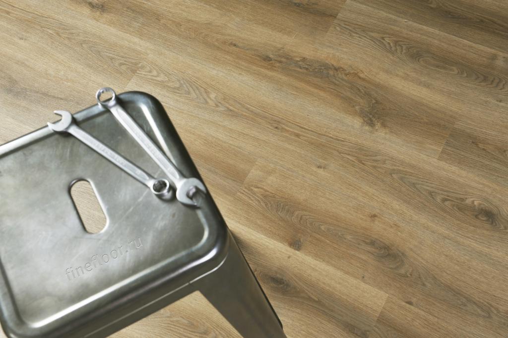 Ламинат кварц-виниловый FineFloor  Light FF-1336 Дуб Милпорт 1251х187х4,5мм(1уп.-2,1м2) 34кл.
