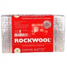 Ут. Роквул Сауна Баттс 50х600х1000мм 8 лист.4,8 кв.м. 0,24 куб.м.М-40 кг/м3