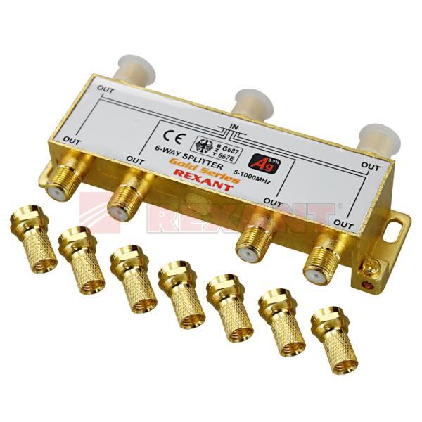 Краб делитель ТВ*6 + 7 шт,5 - 1000МГц,05-6104