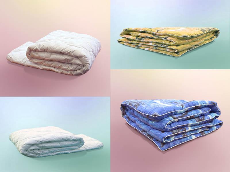 Одеяло синтепон 1,5 тонкое