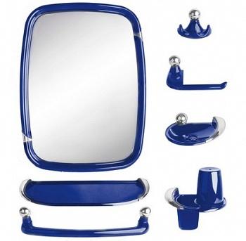 Набор для ванной Вива классик синий полупрозрачный