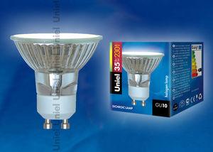 Лампа галогеновая JCDR 35W, 220V GU10