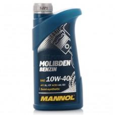 Масло моторное Molibden Benzin10w-40 1л