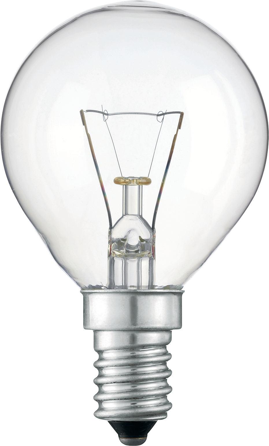 Лампа капля прозрачная 40 W Е14
