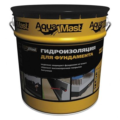 Мастика битумная Технониколь AguaMast гидроизоляционная  холодная 18кг