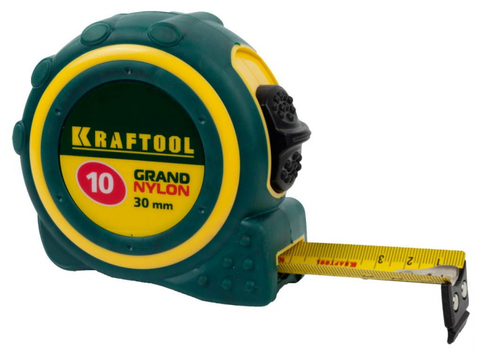 "Рулетка 10м х 30мм Kraftool ""Expert"" Grand"