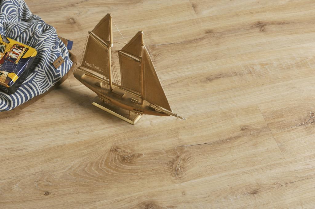 Ламинат кварц-виниловый FineFloor  Light FF-1321 Дуб Меранти 1251х187х4,5мм(1уп.-2,1м2) 34кл.