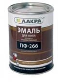 Эмаль ПФ-266 для пола красно-коричневая 3 кг (Лакра Синтез)