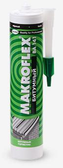 Герметик Makroflex битумный черный 290мл