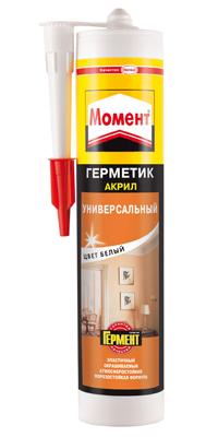 Герметик Момент акриловый морозостойкий белый 420 г