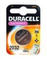 Батарейка литиевая, 3V, Duracell  CR 2032 BL-1