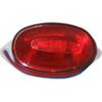 Светильник-вспышка(стробы) SТ1А-3,5W-220V красный,26004