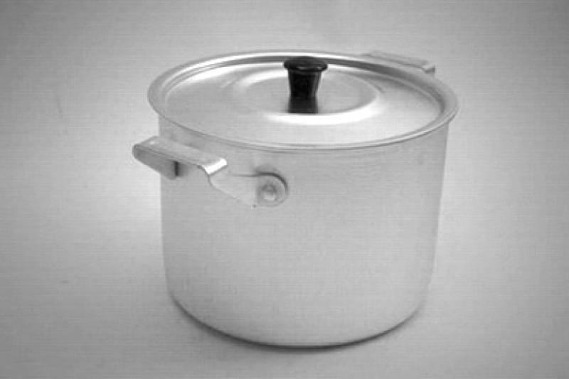 Кастрюля алюм 2,5 л  ОС-153 (ДеМид)