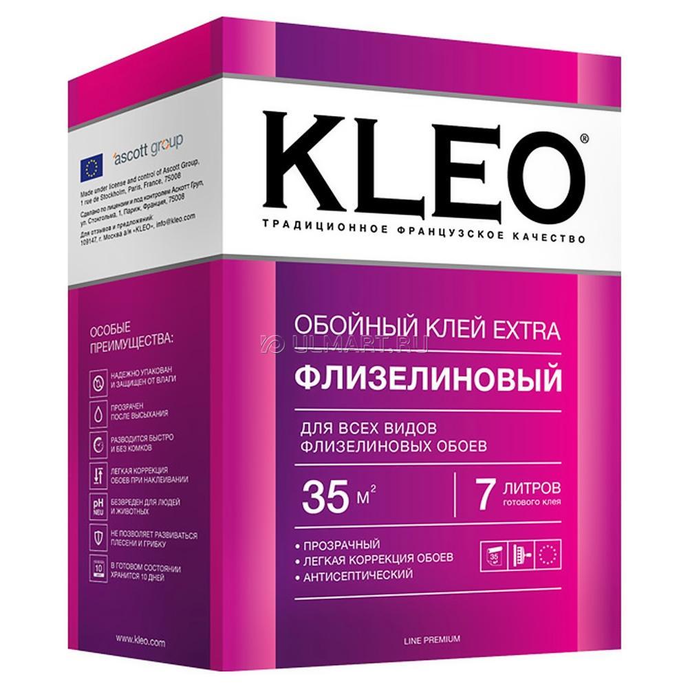 Клей для обоев KLEO Экстра для флизилиновых 45 кв.м.