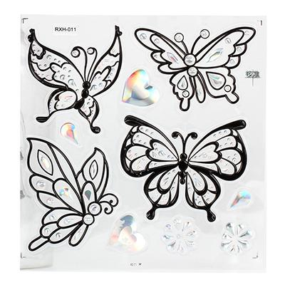 Наклейка бабочки 27-21см