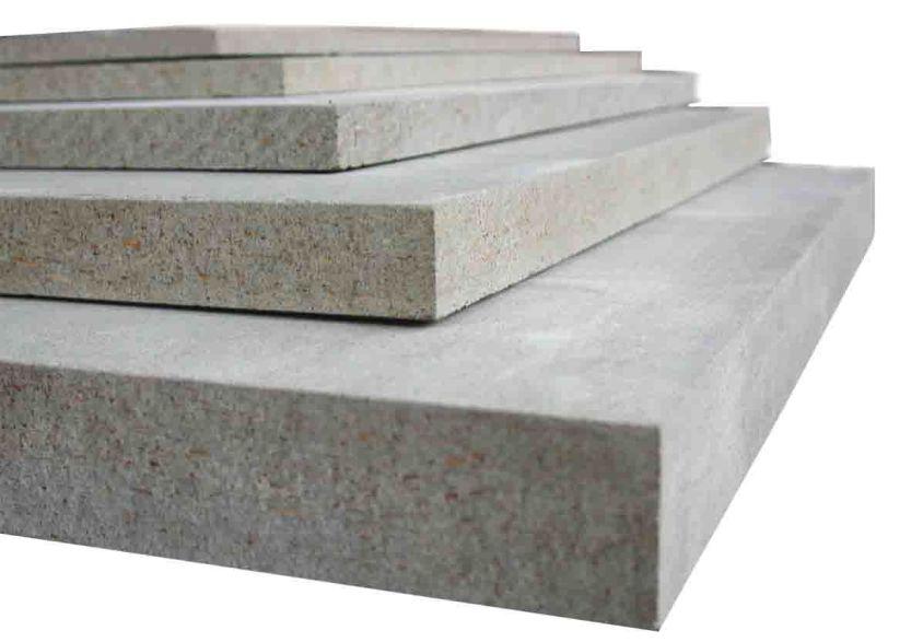 ЦСП  10х1250х3200мм Плита цементно- стружечная 4 кв.м.