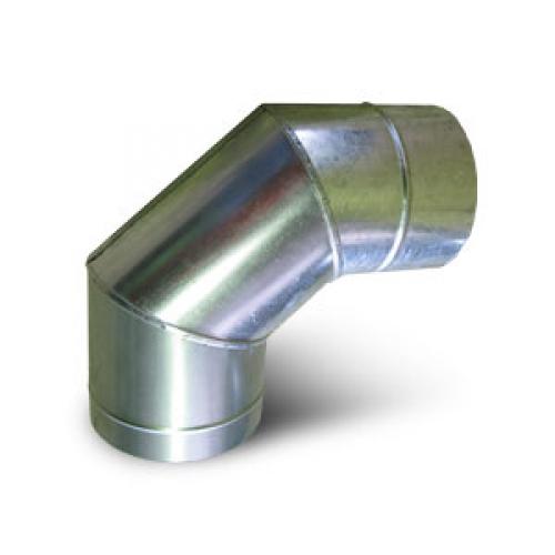 Отвод оц. ф136 (изгиб плавный из 5 сегментов)
