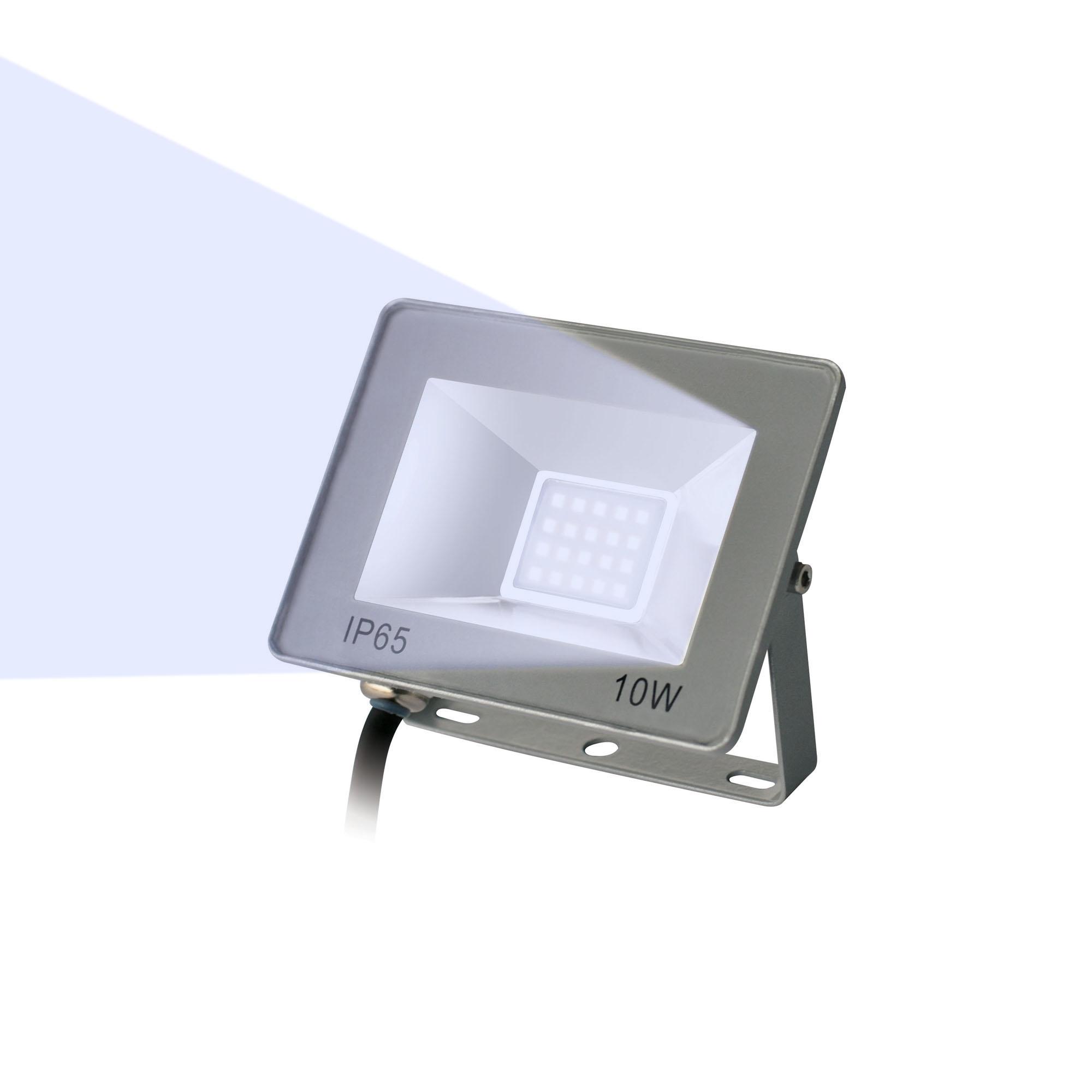 Прожектор светод-ный ULF-F15-10W/DW IP65 185-240B SILVER
