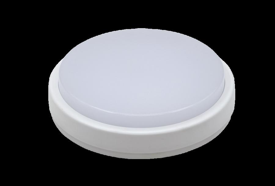 Светильник светодиодный с дачиком движения ULW-Q211-12W/NWкруг IP65 белый