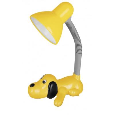 Светильник настольный KD-387 желтая Собачка