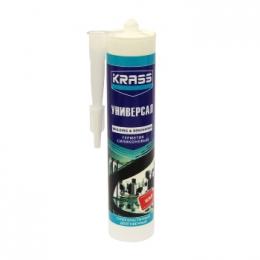 Герметик KRASS силикон универсальный белый 300 мл