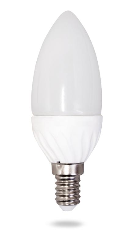 Лампа светод-ая ЭРА В35-6w-4200-E14 свеча