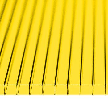 Поликарбонат 10мм желтый