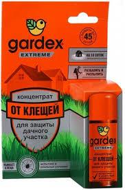 Концентрат для защиты от клещей Gardex 50мл