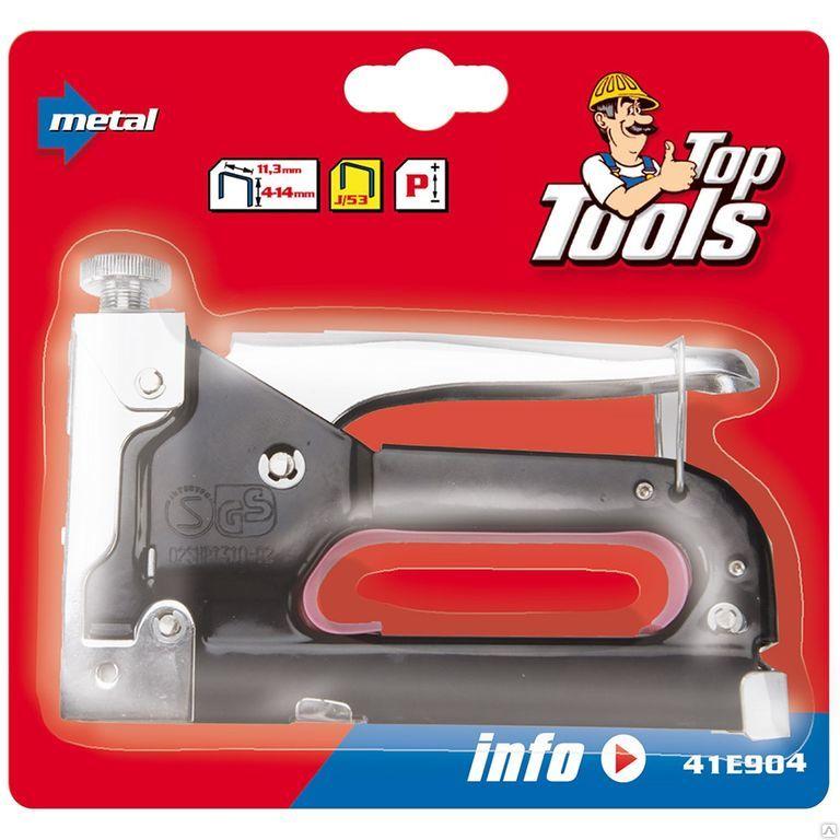 Степлер 4-14 мм TOP TOOLS