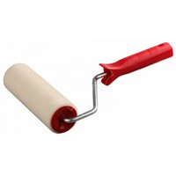 Валик с ручкой 180мм ф8мм KRAFOR велюр