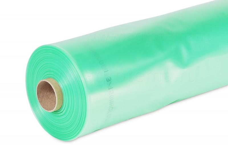 Пленка полиэтиленовая 1500х150 мкр рукав (зеленая)