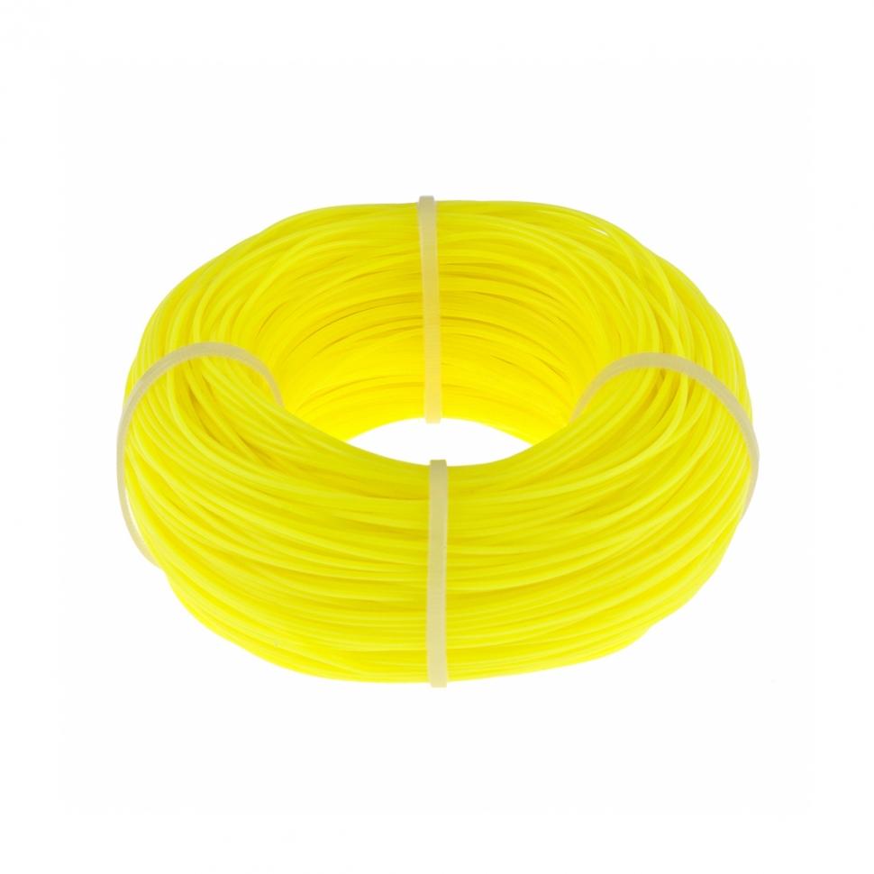 Леска строительная 100м D1мм (желтая)