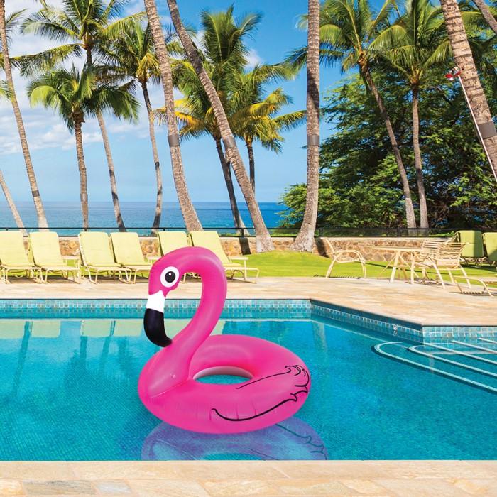 """Круг надувной""""Фламинго""""90 см"""