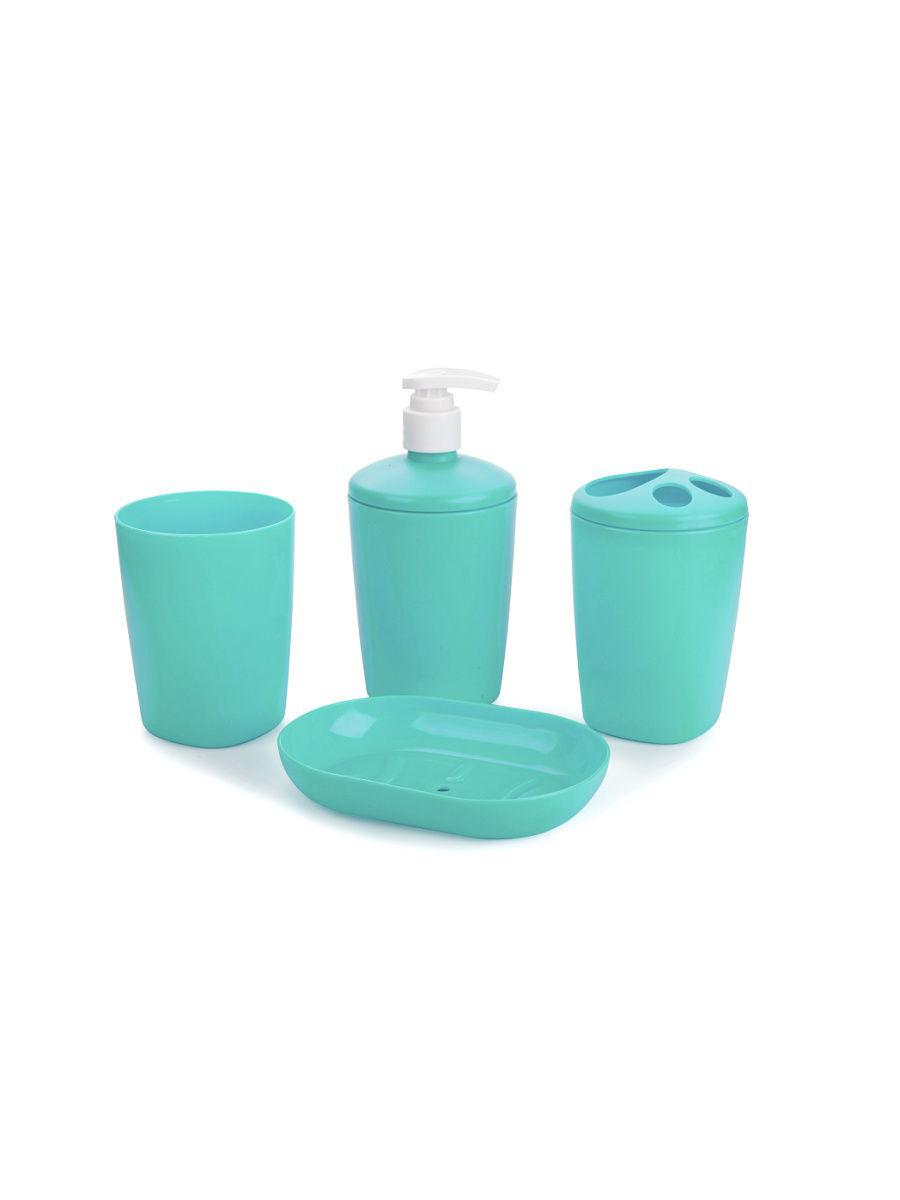 Набор аксессуаров для ванной комнаты Беросси Aqua снежно-белый