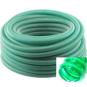 Шланг спиральный-витой Форпласт 38мм(4 атмосфер)зелён.