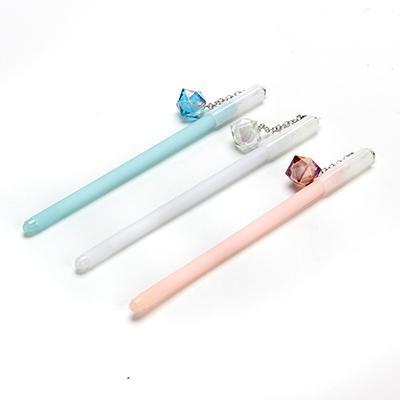 Ручка гелевая с подвеской-кристалл