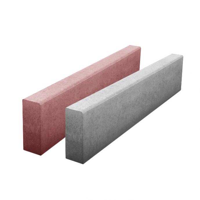 Водосток тротуарный 500х160х50 красный, серый